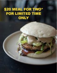 Lunch at Burger 10 $20 Meal for Two!