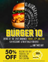 Burger 10 opening